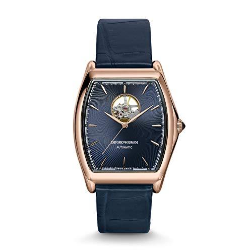 Emporio Armani - Reloj automático de Cuero para Hombre ARS3351