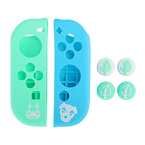 Dancal Silicone Host Protective Case Joystick Cover Accessory for Nintendo Switch Game Console(002 )