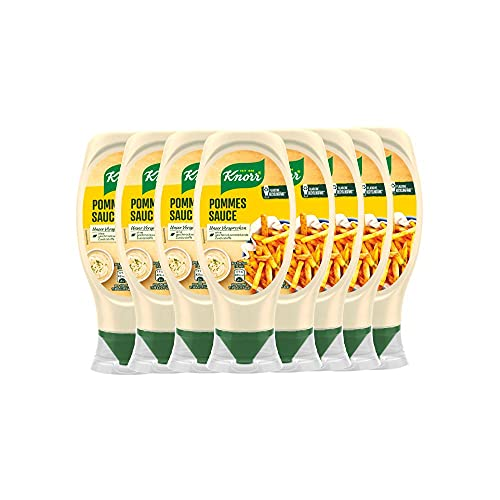 Knorr Pommes Sauce Flasche, 8er Pack (8 x 430 ml)