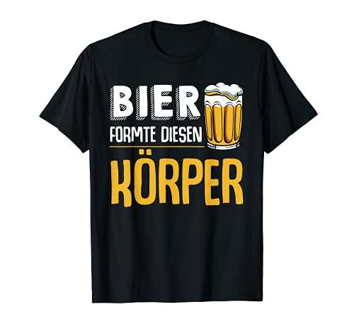 Bier Formte Diesen Körper Ideales Geschenk Biertrinker T-Shirt