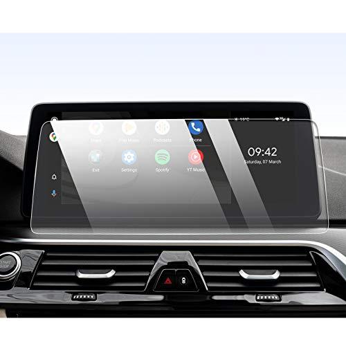 YEE PIN 12,3-Zoll Kompatibel mit BMW 5er G30 G31 2021 | Displayschutzfolie GPS Auto Navigation Displayschutz Kratzfeste HD Gehärtetes Glas