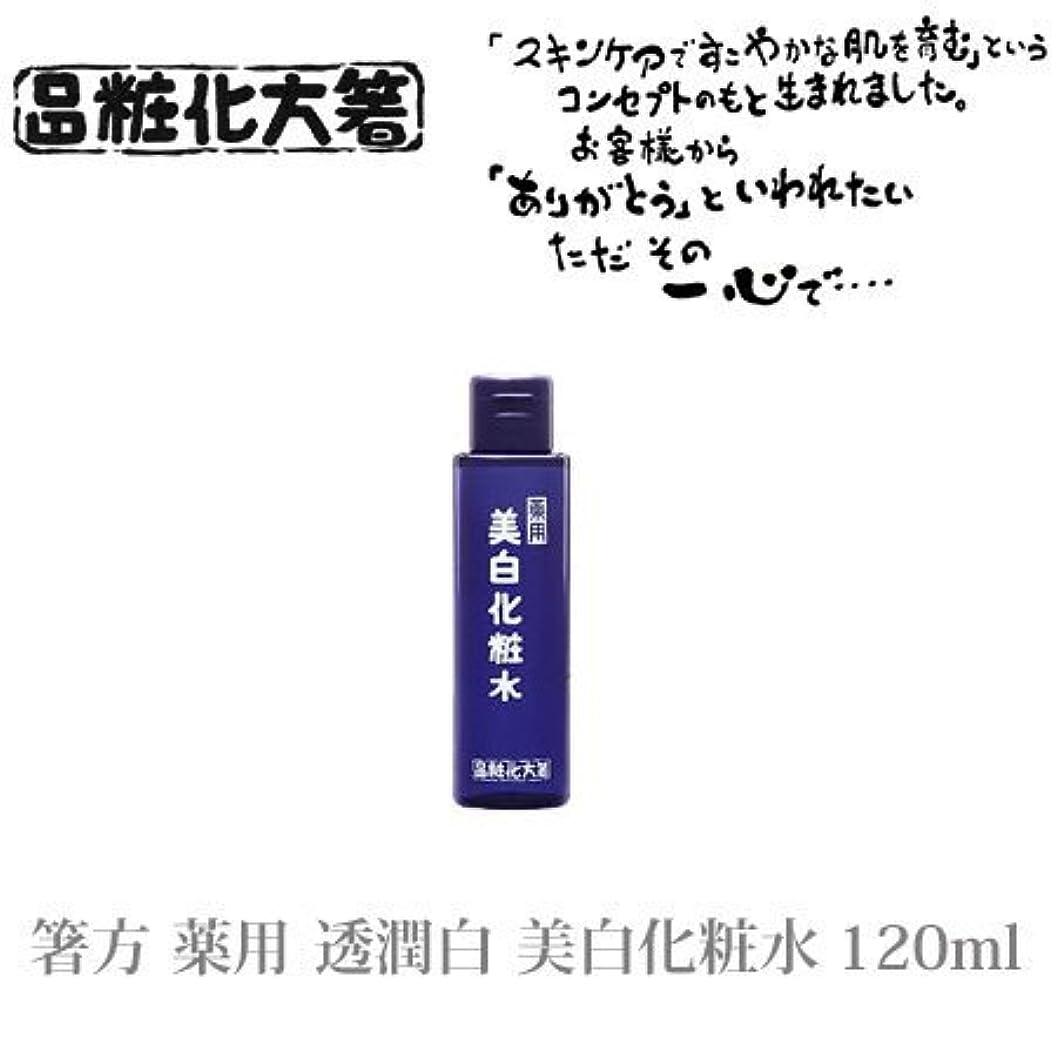 木見ました押し下げる箸方化粧品 薬用 透潤白 美白化粧水 120ml はしかた化粧品