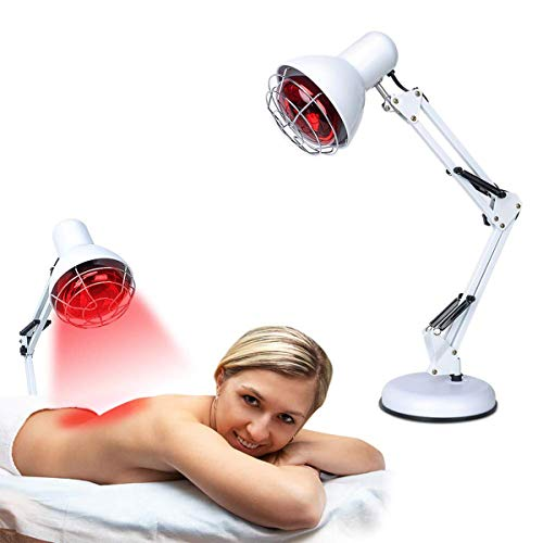 Best Prices! Red LED Therapy Light - 150W Infrared Light for Pain, Relief Heat Lamp for Body Neck Ac...