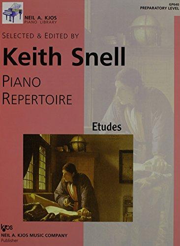 GP640 - Piano Repertoire - Etudes - Preparatory Level