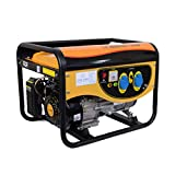 HIOD Inverter Generator - 3000w, 3kva, 220v, Simplex, Quiet Mini Household Emergency Generator, Gasoline...