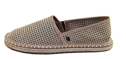 Armani Jeans Damenschuhe Espadrilles Canvas Shoe 925157 (36, beige)