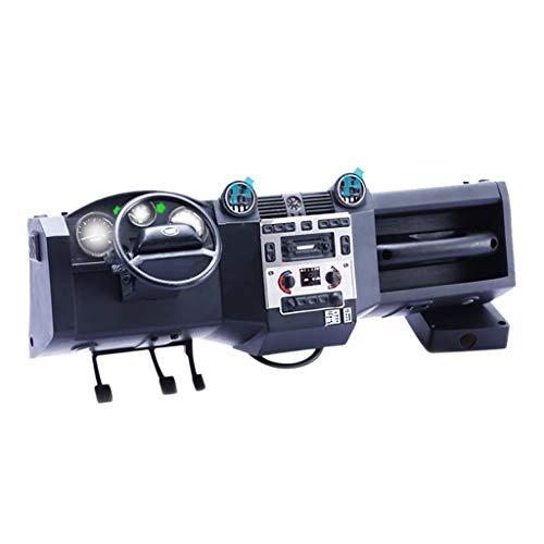 TwoCC Verteidigen Sie mit Bett Fuß Fan Emulation Console Autoteile für Traxxas Trx4 Rc Auto
