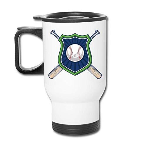 Vaso republicano de béisbol divertido - Vaso con doble aislamiento - Taza de café de 30 onzas para automóvil, viajes, trabajo