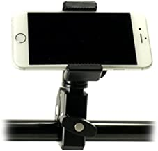iShot Pro Remora S1 iPhone Universal Smartphone Tripod Monopod Mount Holder + HD Metal Pipe Bar Pole Clamp Adapter - Compatible with iPhone Samsung Galaxy Nexus LG HTC and Other 2.2-3.2