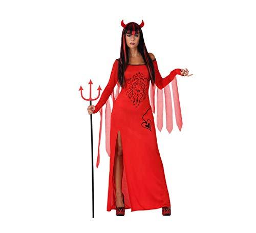Atosa 14855 Disfraz demonia adulto XL, talla mujer