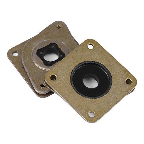 Akozon 5pz NEMA 17 Ammortizzatore di Vibrazioni del Motore Passo-passo in Acciaio e Gomma Stampante 3D CNC