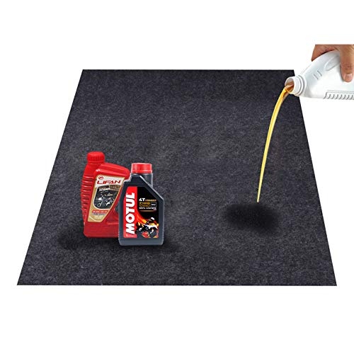 CONVELIFE Felt Fabric Absorbent Material Garage Floor Oil Spill Mat,Under Sink Mat, Protects Garage Floor(36inches x 48inches)