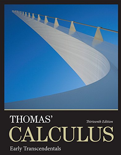 Thomas' Calculus: Early Transcendentals plus MyLab Math with Pearson eText -- Access Card Package (Integrated Review Cou