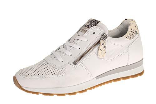 Maca Kitzbühel 2634 - Damen Schuhe Sneaker - White-pyton, Größe:39 EU