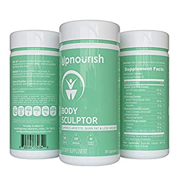 Clinically Proven Weight Loss Supplement For Women & Men - Appetite Suppressant Thermogenic Fat Burner & Metabolism Booster- Diet Pills for Fast Fat Burn & Stomach Belly Fat Loss - 90 Vegan Capsules