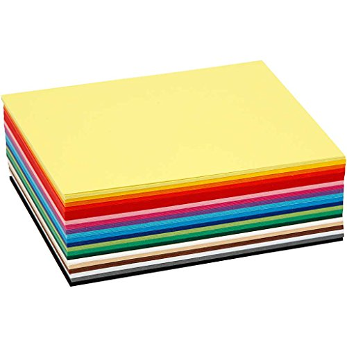 Colortime 120 piezas Creativ para tarjetas, varios colores
