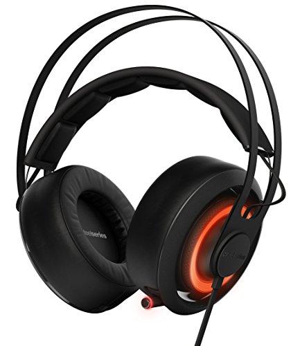 SteelSeries Siberia 650- Casque Gaming- Son Surround Dolby 7.1- Illumination RGB- Logiciel de configuration- (PC / Mac) - Noir