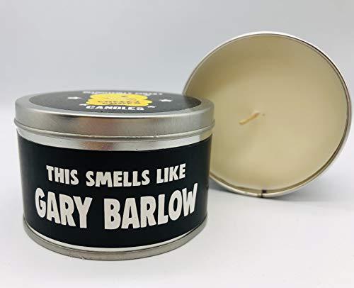 Wanky Candle Tin Novelty Gift Candle Smells Like Gary Barlow