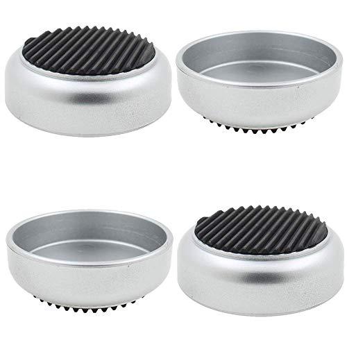 Lifeswonderful® - 4 vasos de goma para ruedas con base de goma,...