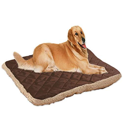 Fliyeong Comfort Warm Pet Blanket Hundehütte Mat Pad Waschbare Techo Nest Cama Pad Heimtierbedarf 1 Pieza Dark Coffe Color