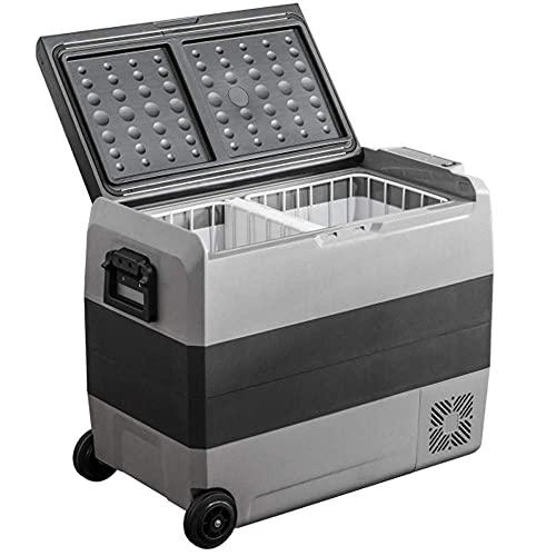 Frigorifero LG COMPRESSORE Portatile Frigo frigo Grande con compressore 60L 60W 220V   24V   12V -20 ° C Dual-Core Refrigerazione per la Guida Viaggi Pesca all aperto e Uso Domestico Camion Auto