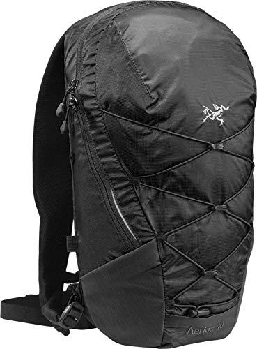 Arcteryx Erwachsene Rucksack Aerios Backpack Daypack, Black, 10 x 23 x 45 cm, 10 Liter