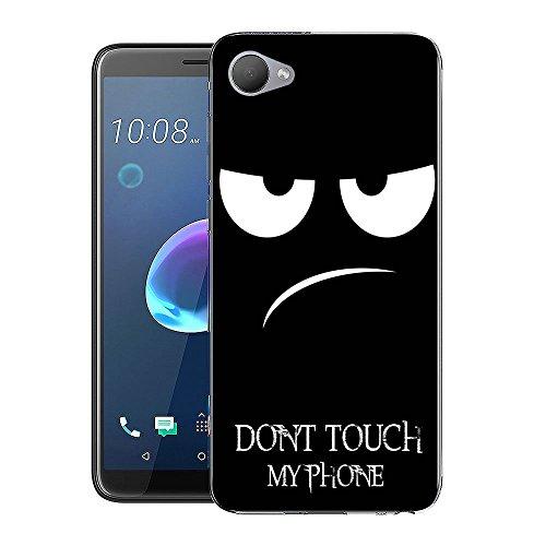 HTC Desire 12 Handy Tasche, FoneExpert® Ultra dünn TPU Gel Hülle Silikon Hülle Cover Hüllen Schutzhülle Für HTC Desire 12