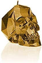 Candellana Candles 5902841362529 Small Skull Candellana Candle, Gold