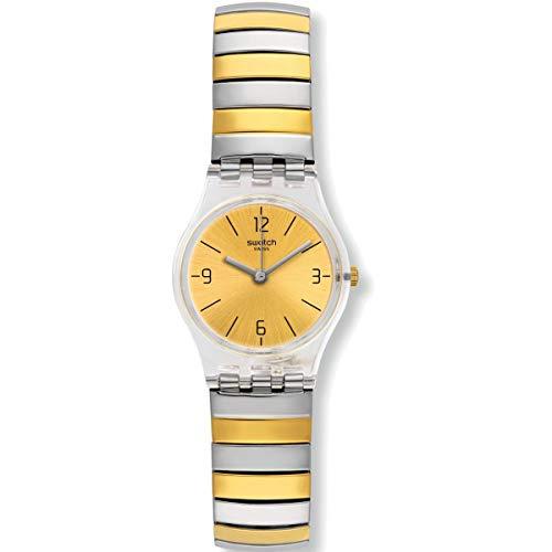 Swatch Originals LK351B - Reloj de cuarzo con esfera dorada