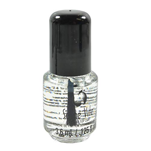 Seche Vite Dry Fast Top Nail Coat, Clear - .125 oz. oz