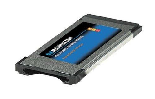 IC Intracom Mahattan - Lector y Grabador de Tarjetas para Ordenadores con Ranuras ExpressCard de 34 mm y 54 mm Compatible con memorias SecureDigital