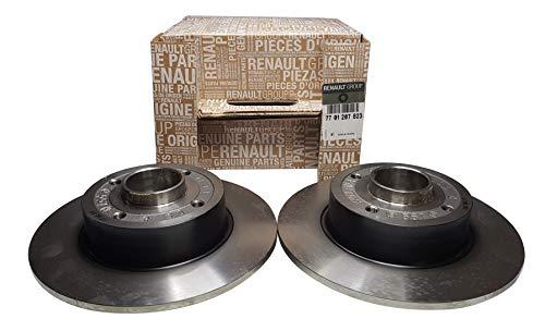 Renault Original Bremsscheiben + Satz Radlager Clio Megane Twingo 7701207823