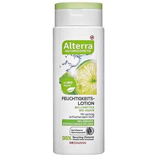 Alterra Feuchtigkeits-Lotion Bio-Limette & Bio-Agave, 250 ml
