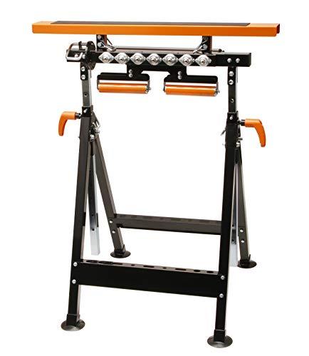 ToughBuilt 1/paire de tr/éteaux de travail C700 chevalets de sciage r/églables en hauteur et supportant jusqu/à 1300/kg