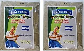 LA GUANAQUITA Horchata de Morro 340 grs. - 2 Pack/Morro Seed Orgeat 12 oz. - 2 Pack