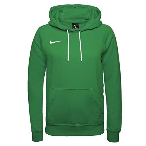 Nike Damen Park 20 Kapuzenpullover, Pine Grün/Weiss/Weiss, M