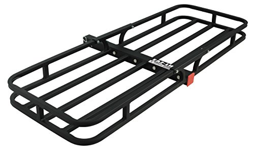 Camco Hitch Mount Cargo Carrier (48475) For 2 Inch Receivers
