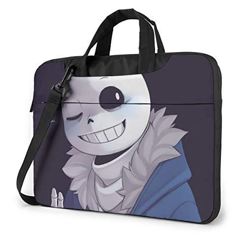 Laptop Sleeve Bag Cartoon Undertale Sans Laptop Sleeve Case Cover, 14 inchTablet Briefcase, Notebook Sleeve Case
