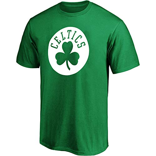 Outerstuff NBA Youth 8-20 Team Color Performance Polyester Primary Logo Team T-Shirt (Boston Celtics Green, 10-12)