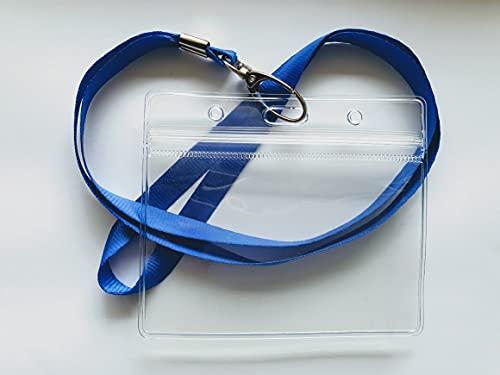 Funda para tarjetas de identificación, flexible, resistente al agua, 8 mm, para tarjetas bancarias, tarjetas de crédito, documentos de identidad, tarjetas de conducir