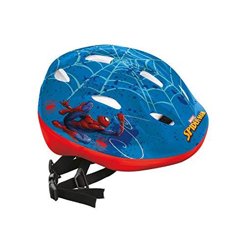 Mondo Toys 28619 - Casco de Bicicleta Infantil diseño Spider-Man