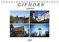 Gifhorn entdecken (Tischkalender 2022 DIN A5 quer): Gifhorn hat viel zu bieten (Monatskalender, 14 Seiten )