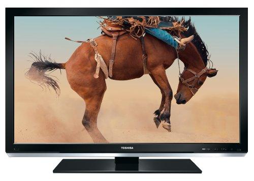 Toshiba 42 SL 738 G 106.7 cm (42 Zoll) Slim LED-Backlight-Fernseher (Full-HD, 100Hz, DVB-T/-C) klavierlackschwarz
