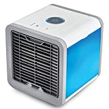 """Mini Climatiseur Mini Climatiseur Mobile Mini Climatiseur Portable Air Cooler Mobile Air Conditioner, Usb Portable Humidifier, 7 Colors Led Night Light Suitable For Office, Family"""""""