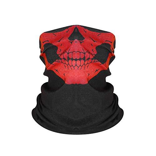 WW Bandana Haute Élastique 3D Sans Couture Tête de Mort Cyclisme Femmes Cagoule Joker V Vendetta Visage Écharpe Ski Randonnée Magique Bandana Buff Cagoule
