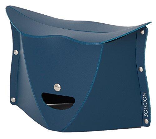 SOLCION 折りたたみ椅子 パタット180 PATATTO180 ネイビー 高さ18cm PT1803