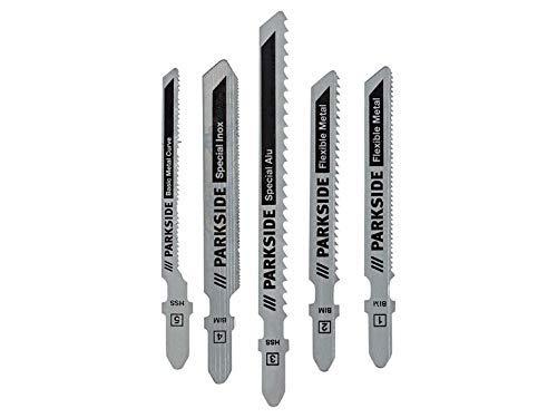 Stichsägenblätterset PSTZ 3 | Universal - Metall - Holz und Kunststoff | Für Parkside Akku- Pendelhubstichsäge PSTDA X20V und weitere (Metall)