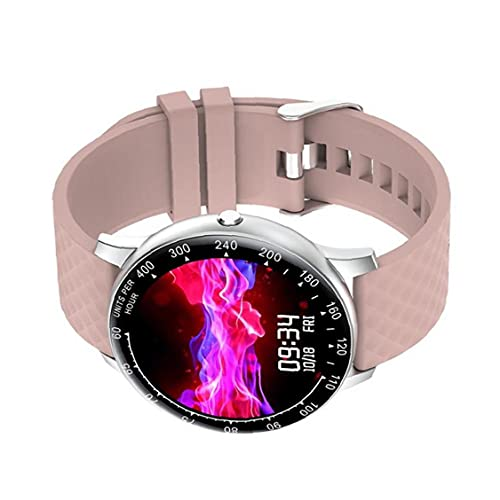 Reloj elegante H30 del perseguidor del reloj del reloj del deporte del perseguidor Actividad pulsera con la presión arterial del ritmo cardíaco Hombres Mujeres rosa herramienta conveniente y práctico