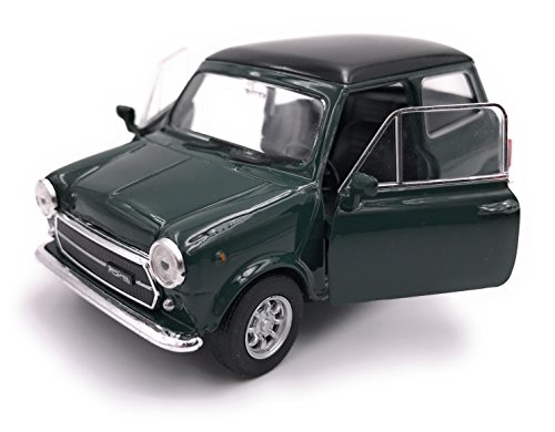 Welly Mini Cooper 1300 Modelauto gelicentieerd product 1:34-1:39 groen
