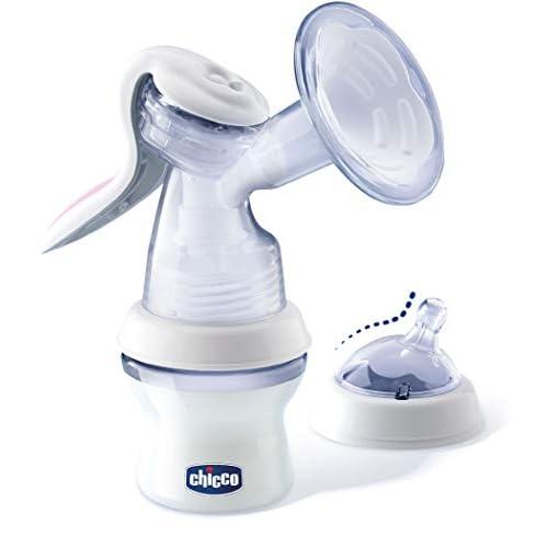 Chicco Natural Feeling Tiralatte Manuale, Confortevole e Veloce, con Estrazione del Latte Facilitata